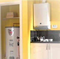 BAXI Megaflo High Efficiency Gas  Boiler fitted by Joseph C Kenny Plumbing & Heating, Co. Cork, Ireland